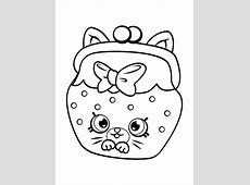 Kids n fun.com   53 coloring pages of Shopkins