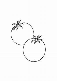 ausmalbild tomaten kostenlos ausdrucken