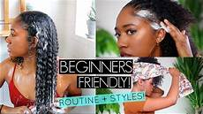 slaying into 2019 easy curly hairstyles natural hair wash routine beginner s friendly youtube