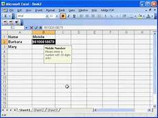 limit user data entry in a ms excel userform textbox or excel worksheet cell youtube