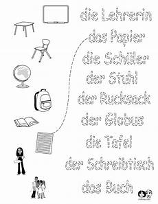 german preschool worksheets 19671 school worksheet german unterricht lernen und franz 246 sisches klassenzimmer