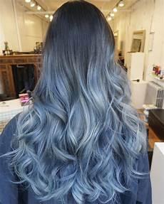coloration cheveux bleu mode cheveux gris bleu flanakerer ga