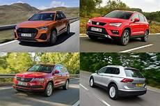 Audi Q3 Vs Volkswagen Tiguan Vs Seat Ateca Vs Skoda Karoq