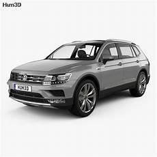 Volkswagen Tiguan Allspace 2017 3d Model Vehicles On Hum3d