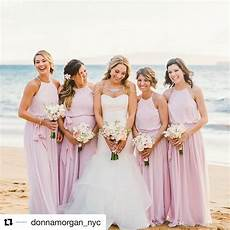 blush pink summer beach wedding bridesmaid dresses a line halter neck pleats long maid of honor