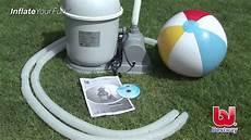 pool profi24 inbetriebnahme bestway flowclear sandfilter