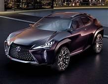 Lexus Reveals Futuristic UX Concept Compact SUV At Paris