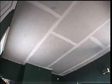 Pose Placo Plafond Refaire Un Plafond Avec Du