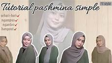 Tutorial Pashmina Simple