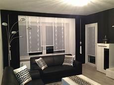 designer gardine esszimmer ma 223 gefertigt modern schwarz
