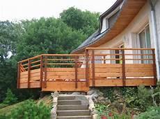 balustrade en bois pour terrasse exterieure eo13 montrealeast