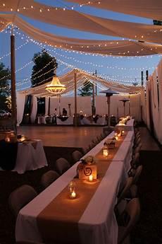 a beautiful night to celebrate diy backyard wedding reception in 2019 wedding reception