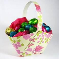 paper easter basket to make