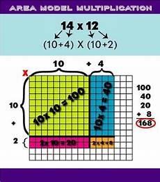 multiplication worksheets using area model 4625 area model multiplication poster by caren lewis tpt