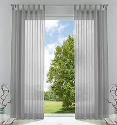 gardinen set wohnzimmer 2er pack gardinen transparent vorhang set wohnzimmer voile