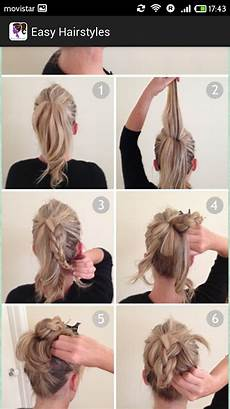 easy hairstyles step by step android apps play