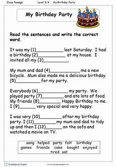 birthday celebration worksheets 20208 my birthday reading worksheet treasure trove
