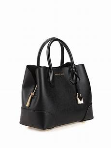 michael kors mercer gallery black small tote totes