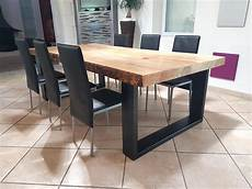 Table Salle Manger Bois Metal D Occasion