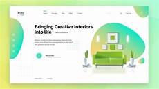 ui design tutorial design latest website in adobe xd learn ui ux designing youtube