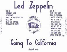 led zeppelin stairway to heaven testo led zeppelin must bootlegs going to california