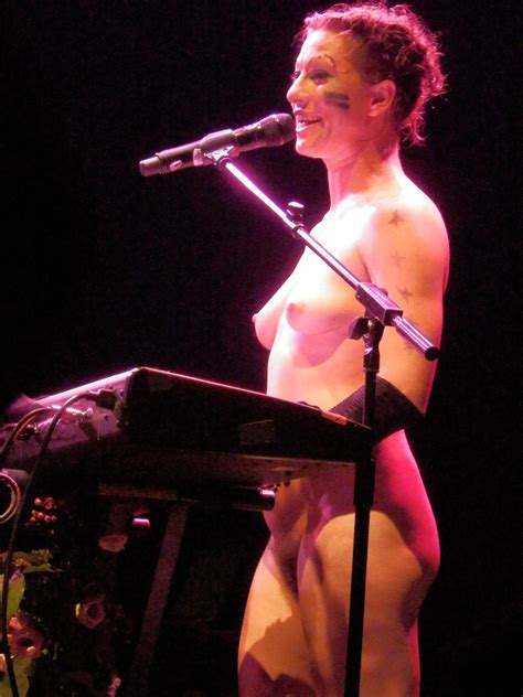 Naked Actress On Stage