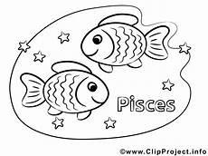 Ausmalbilder Sternzeichen Fische Fische Sternzeichen Ausmalbilder