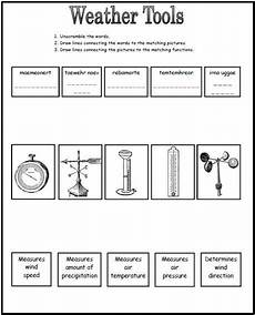weather tools worksheet this could be a great worksheet to use after going over the different