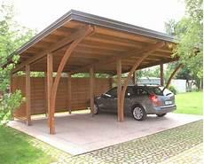 tettoie in legno per auto tettoia a sbalzo per auto galleria di immagini avec