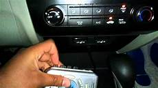 In Car - using a cassette player with the aux in a late