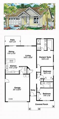 1500 sq ft bungalow house plans ranch style house plan 59713 with 3 bed 2 bath 2 car