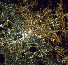berlin from space still a divided city 25 years after the wall fell metro news