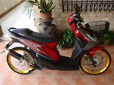 Modifikasi Jok Motor Beat by Modifikasi Honda Beat Simpel Elegan Otosia