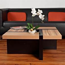 table basse brun noir table basse mod 232 le oregon noir brun