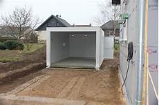 zapf garage die garage zapf ist da wir bauen dann mal ein haus