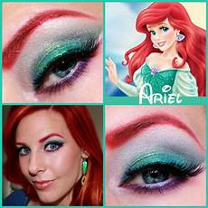 ariel disney princess series paisley peacock makeup