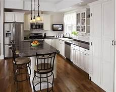 Kitchen Island Cabinet Layout by L Shaped Kitchen Layouts Home Design Ideas Pictures