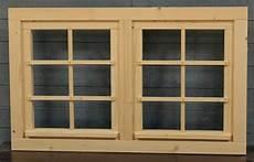 holzfenster für gartenhaus gartenhausfenster doppelfenster 111x68cm zum 214 ffnen