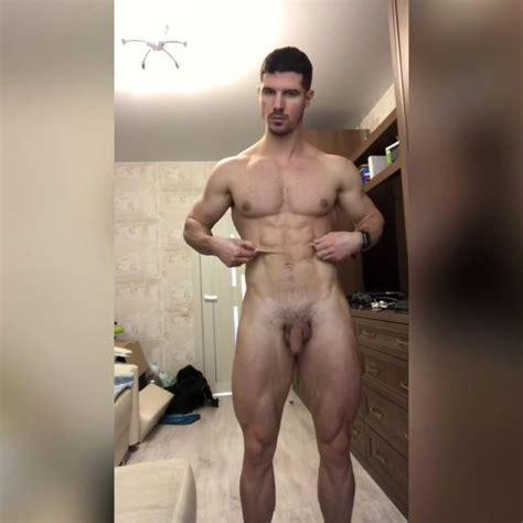 Nude Male Model Drawing
