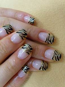 zebra nail art designs black and white
