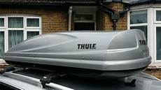 thule atlantis 780 thule atlantis 780 silver roof box in heathrow