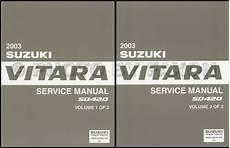 service manuals schematics 2003 suzuki vitara regenerative braking 2003 suzuki vitara repair shop manual set original
