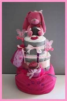 cadeau pour une naissance fille les 125 meilleures images de g 226 teau de couches cadeau