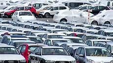 tüv bei neuwagen emder hafen vw werk emden parkplatz f 252 r neuwagen im und