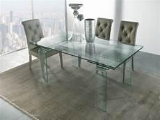 tavolo di vetro per soggiorno tavolo allungabile in cristallo design soggiorno salotto