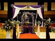 how to setup an indian christian wedding decoration backdrop toronto kuala lumpur malaysia