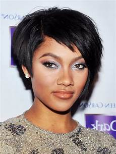 black short haircuts for women 2014