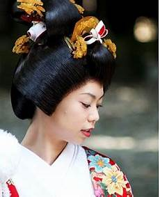 Japanese Wedding Hair Style traditional japanese wedding hairstyles picture