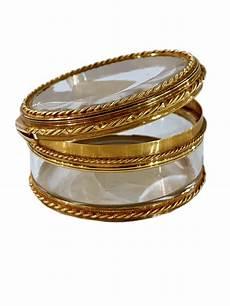 boite de rangement 78183 boite en or et cristal de roche d 233 poque louis xvi xviiie si 232 cle n 78183