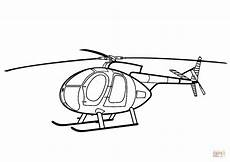 hughes 500 helicopter coloring page free printable